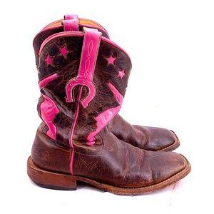 Macie Bean pink pistol gun boots size 10 women's